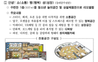 '청소년 희망도시 서울' 조성을 위한 청소년 전용공간 확보 시행계획