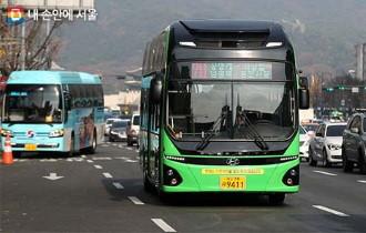 친환경 전기버스 114대 추가...19개 노선 확대