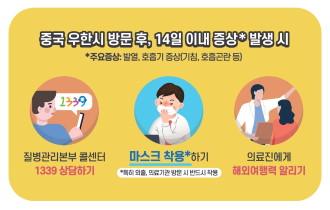 신종 코로나 바이러스 관련 안전대책 통보