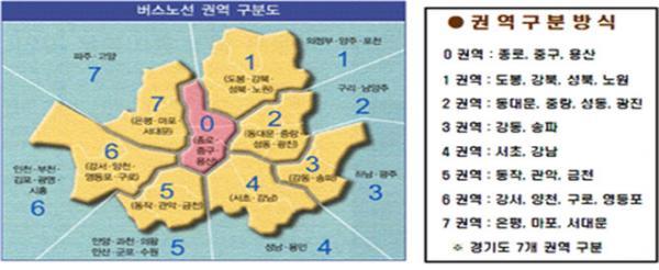 서울시 권역 구분