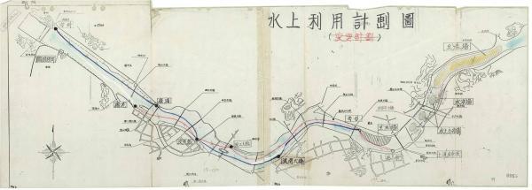 (1986-02-25)한강 수상 이용 계획 추진 中 계획도