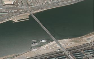2012년 반포대교/잠수교 일대 항공사진