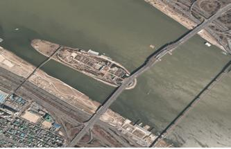 2012년 선유도과 양화대교 일대 항공사진
