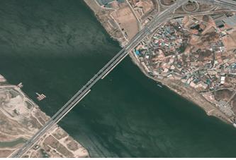 2012년 신행주대교 일대 항공사진